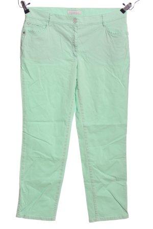 Brax Dopasowane jeansy zielony W stylu casual
