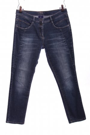Brax Baggy jeans blauw casual uitstraling