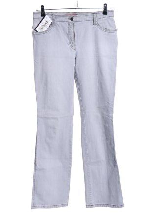 Brax Boot Cut Jeans hellgrau Casual-Look
