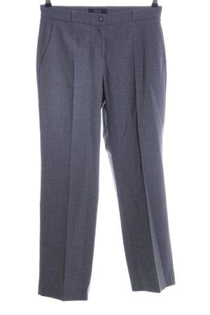Brax Spodnie z zakładkami jasnoszary Melanżowy W stylu biznesowym