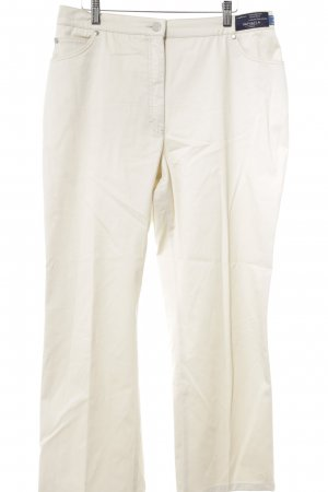 Brax Pleated Trousers oatmeal business style