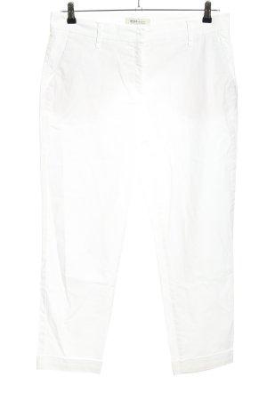 Brax Chinosy biały W stylu casual