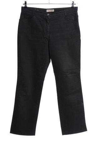 Brax Pantalone chino nero stile casual