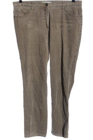 Brax Corduroy Trousers brown casual look