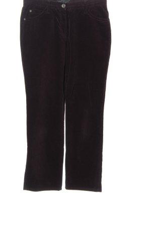 Brax Pantalon en velours côtelé brun style décontracté