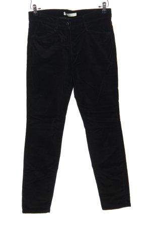 Brax Corduroy Trousers black casual look