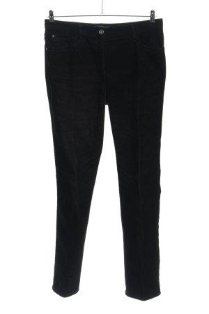 Brax Corduroy broek zwart casual uitstraling