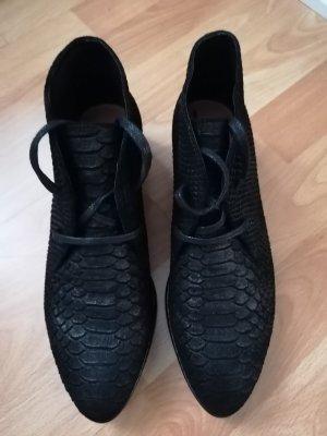Brax Botas con cordones negro