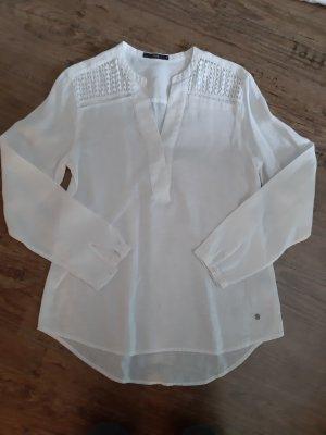 Brax feel Good Lniana bluzka biały