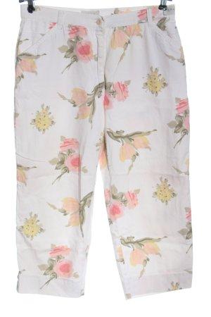 Brax feel Good Spodnie 3/4 Wzór w kwiaty W stylu casual