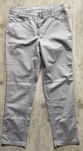 Brax feel Good Stretch Jeans light grey cotton