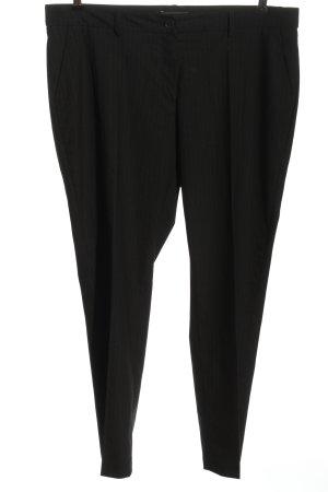 Brax feel Good Spodnie garniturowe czarny Wzór w paski W stylu biznesowym