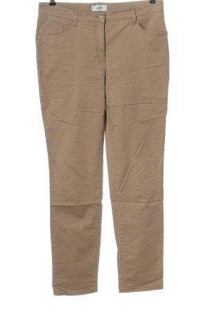 Brax feel Good Spodnie z pięcioma kieszeniami w kolorze białej wełny