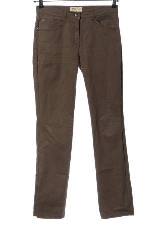 Brax feel Good Pantalone cinque tasche marrone stile casual