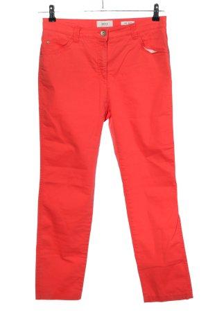 Brax feel Good Pantalon cinq poches rouge style décontracté