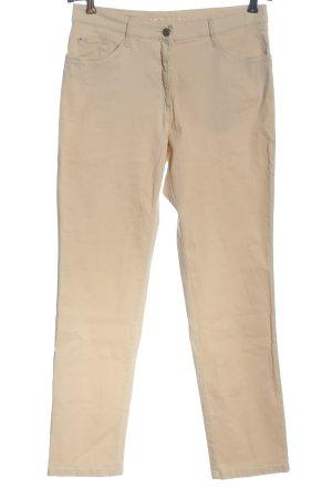 Brax feel Good Spodnie z pięcioma kieszeniami nude W stylu casual