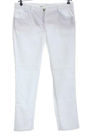 Brax feel Good Spodnie z pięcioma kieszeniami biały W stylu casual