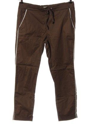 Brax feel Good pantalón de cintura baja marrón look casual