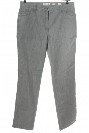 Brax feel Good Low Rise Jeans light grey casual look