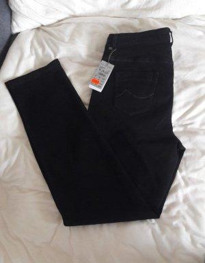 Brax Jeansy z prostymi nogawkami czarny