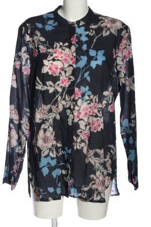 Brax feel Good Shirt met lange mouwen bloemenprint casual uitstraling