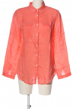Brax feel Good Shirt met lange mouwen roze casual uitstraling