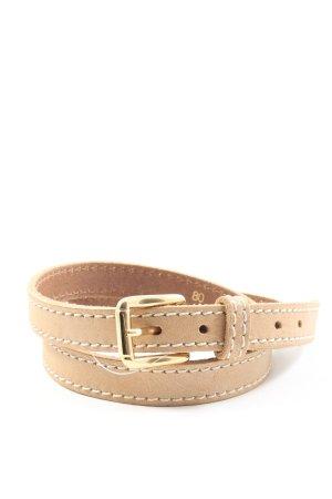 Brax feel Good Cinturón de cuero blanco puro estilo «business»