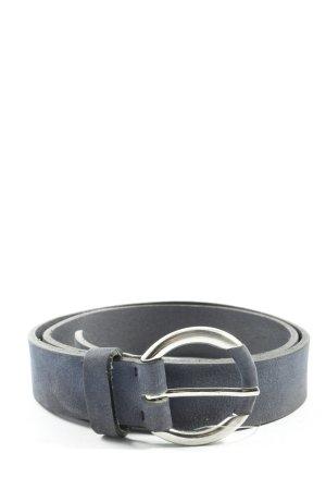 Brax feel Good Leather Belt blue casual look