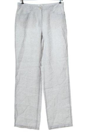Brax feel Good Linen Pants light grey flecked casual look