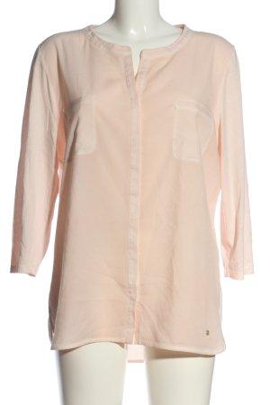 Brax feel Good Koszulka z długim rękawem kremowy W stylu biznesowym