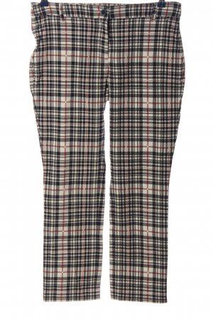 Brax feel Good Drainpipe Trousers check pattern casual look