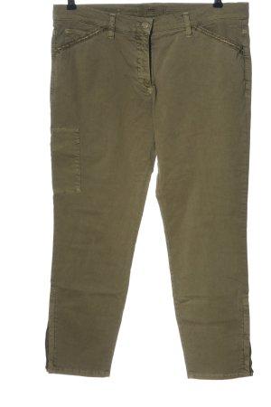Brax feel Good Drainpipe Trousers khaki casual look