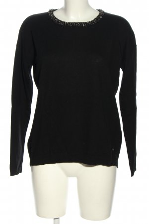 Brax feel Good Crewneck Sweater black casual look