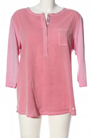 Brax feel Good Slip-over Blouse pink casual look