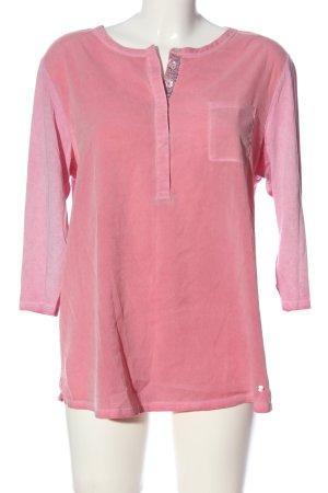 Brax feel Good Slip-over blouse roze casual uitstraling