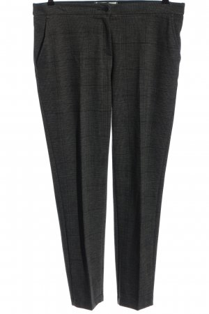 Brax feel Good Jersey Pants black check pattern business style