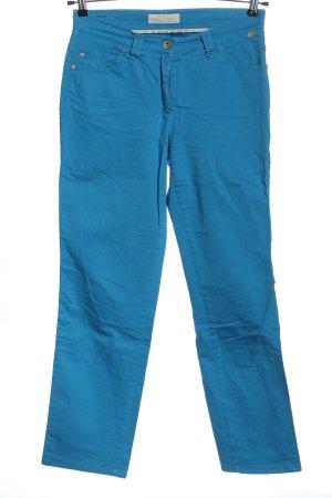 Brax feel Good Spodnie materiałowe niebieski W stylu casual