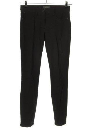 Brax feel Good Stoffen broek zwart zakelijke stijl