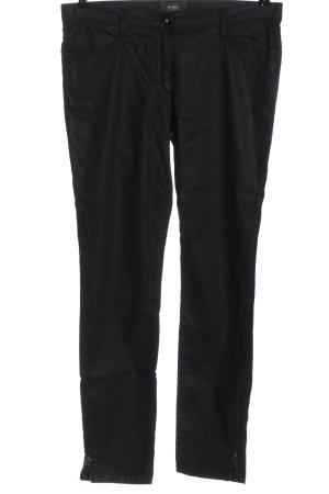 Brax feel Good Stoffen broek zwart casual uitstraling