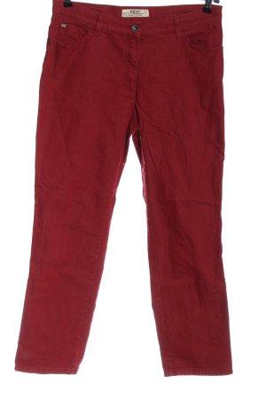 Brax feel Good Jeansy z prostymi nogawkami czerwony W stylu casual