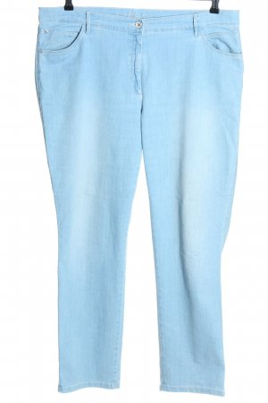 Brax feel Good Jeans met rechte pijpen blauw casual uitstraling
