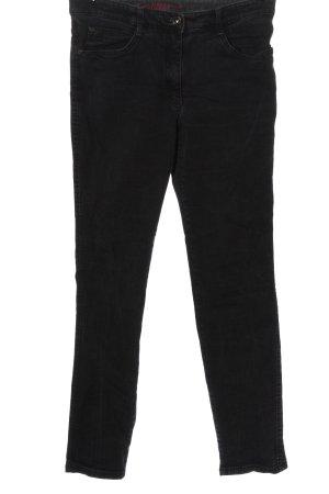 Brax feel Good Jeansy z prostymi nogawkami czarny W stylu casual