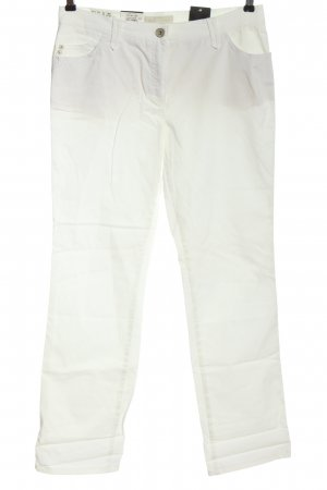 Brax feel Good Straight-Leg Jeans weiß Casual-Look