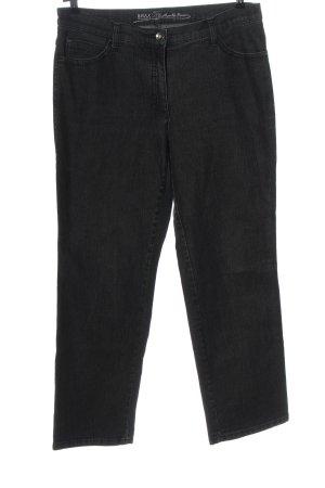 Brax feel Good Straight Leg Jeans black casual look