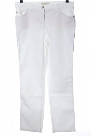 Brax feel Good Straight Leg Jeans white casual look