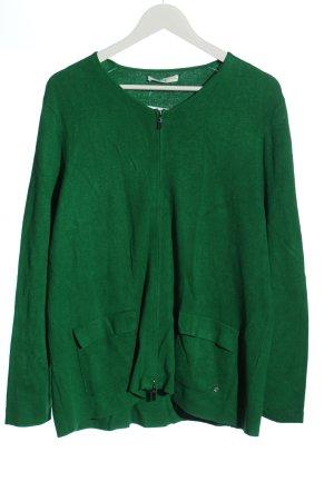 Brax feel Good Kardigana z dzianiny zielony W stylu casual