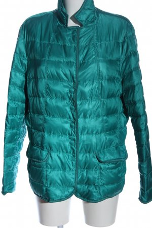 Brax feel Good Veste mi-saison turquoise motif de courtepointe