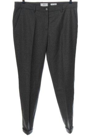 Brax feel Good Pantalón de lana gris claro moteado estilo «business»