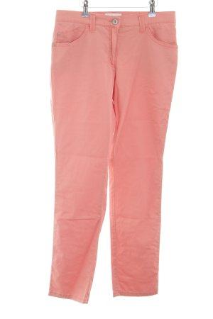 Brax Five-Pocket-Hose pink Casual-Look