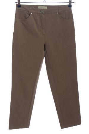 Brax Spodnie z pięcioma kieszeniami brązowy W stylu casual